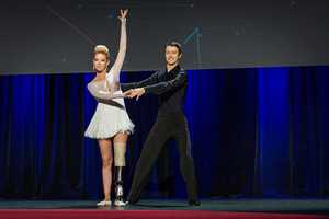 Dancer Adrianne Haslet-Davis kept the promise she made nine days after the bombing, dancing at the TED convention on March 19, 2014.