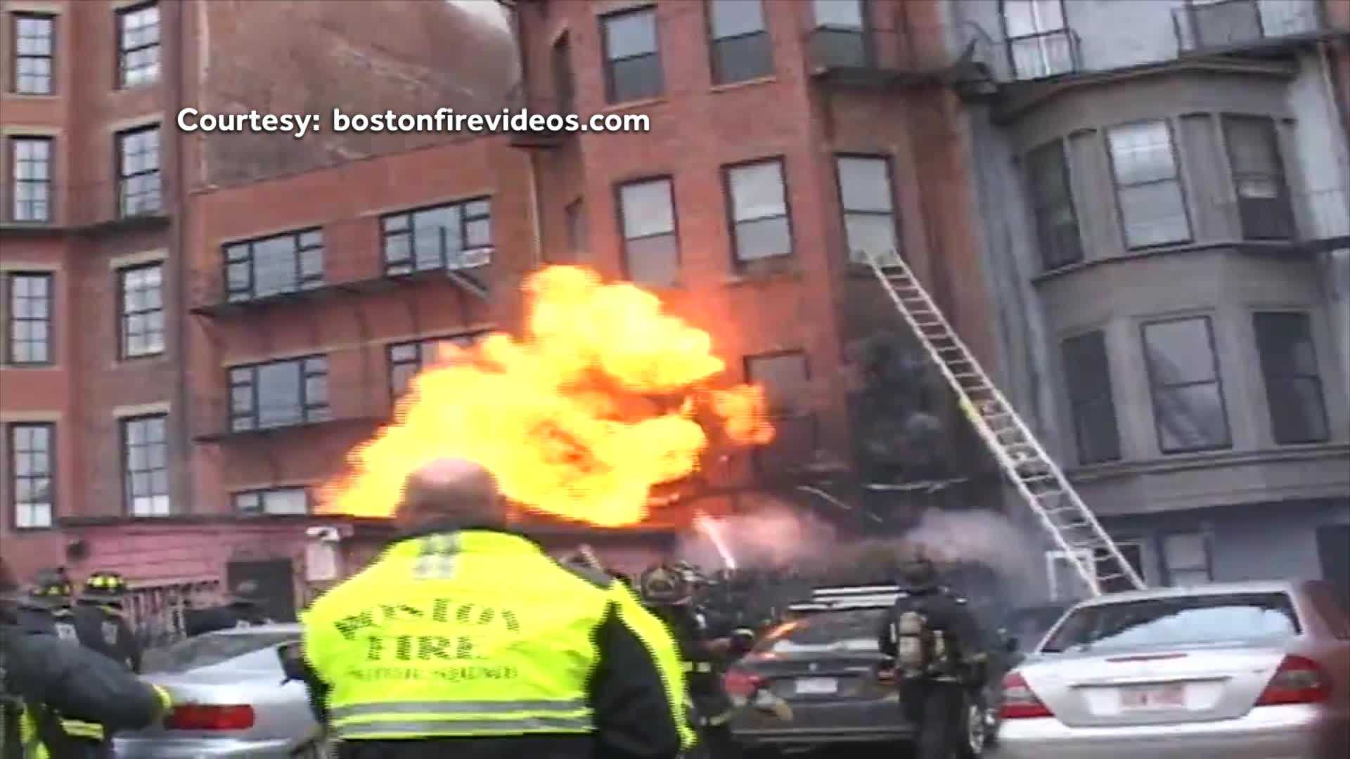Beacon Street fire