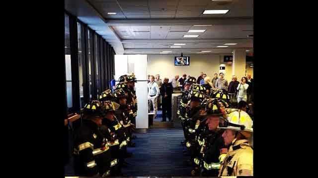 Logan firefighters