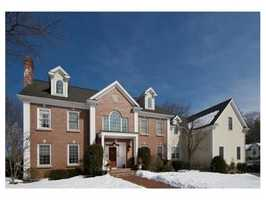 11 Cranmore Road is on the market in Wellesley for $2.9 million.