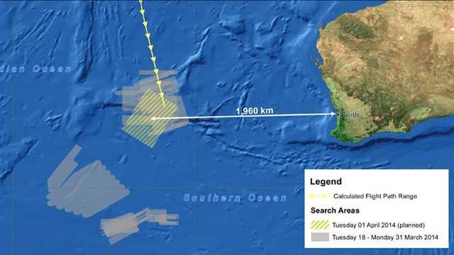 Malaysia Airlines MH370 search