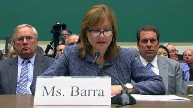 Mary Barra testifies