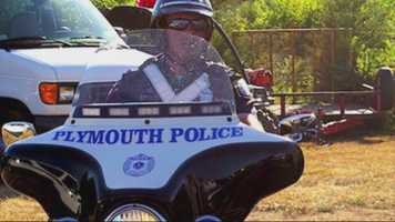 Plymouth police officer Gregg Maloney was killed in a motorcycle crash on Tuesday.
