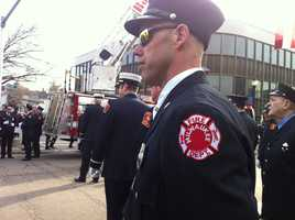 Milwaukee firefighter Andy Wilke