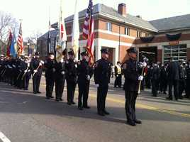 Watertown Fire Department honor guard