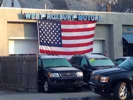 A West Roxbury car dealership