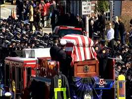 Engine 33 will carry firefighter Michael Kennedy to his final resting place.