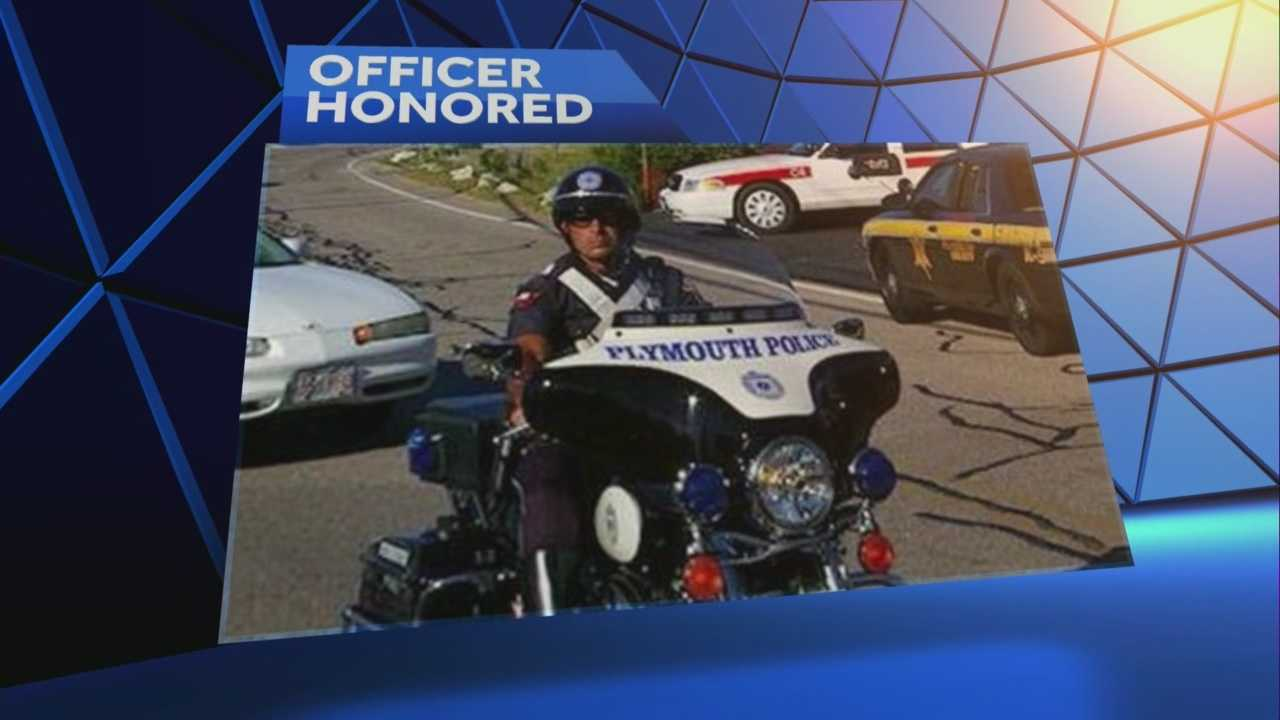 Officer killed in motorcycle crash remembered