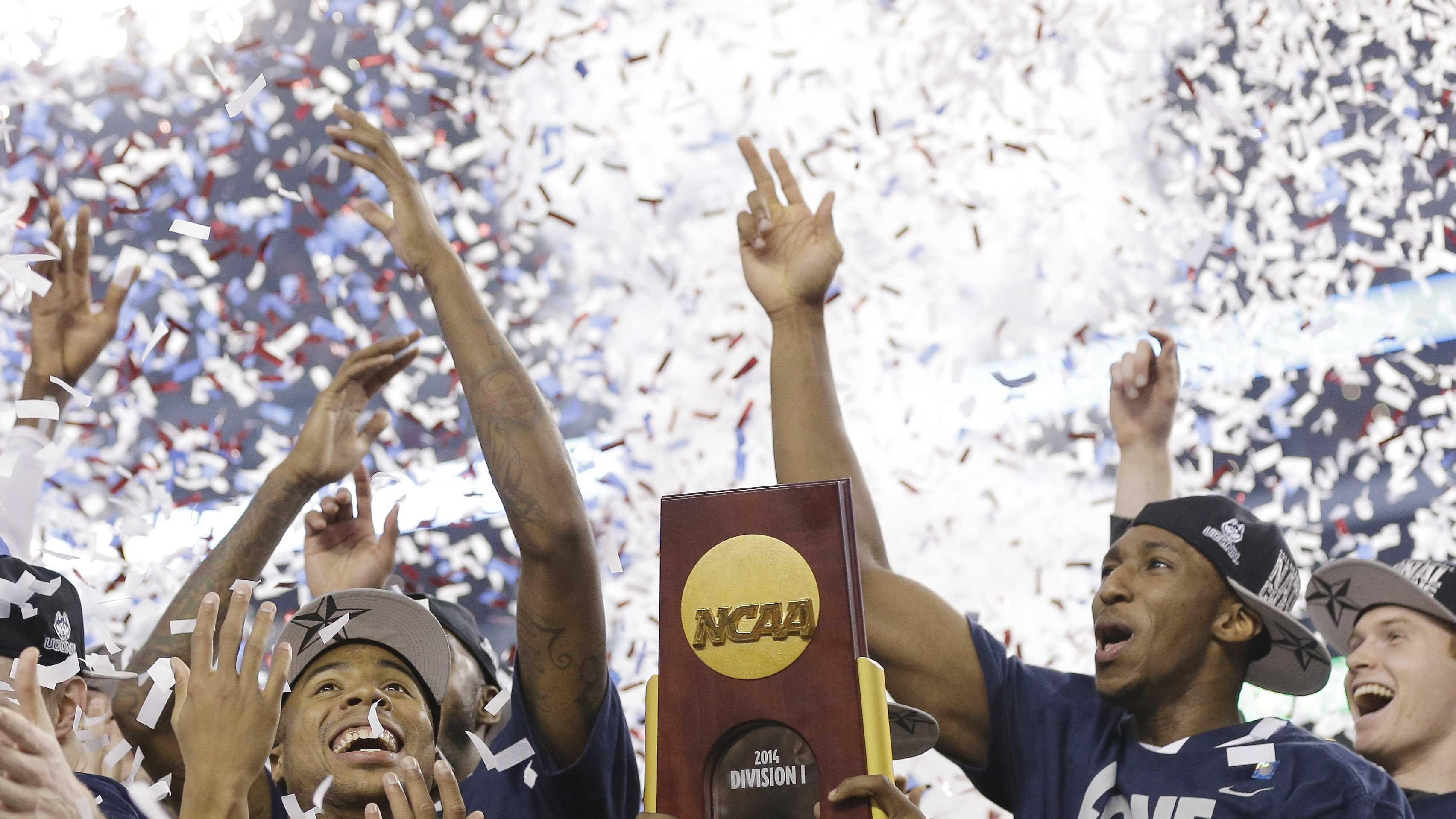UConn NCAA win 4.8