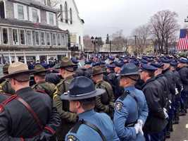 Members of the Maine State Police