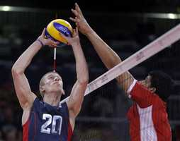 David Smith was a member of the U.S. Olympic Volleyball team in 2012
