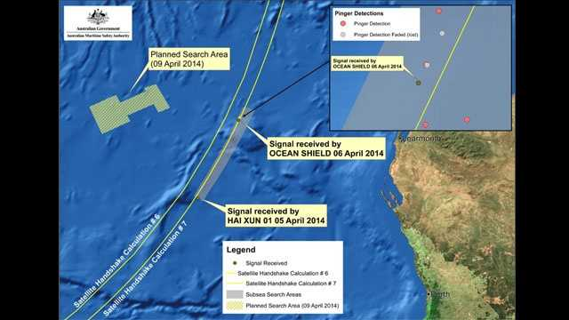 Malaysia Airlines MH370 search, 4-9-2014