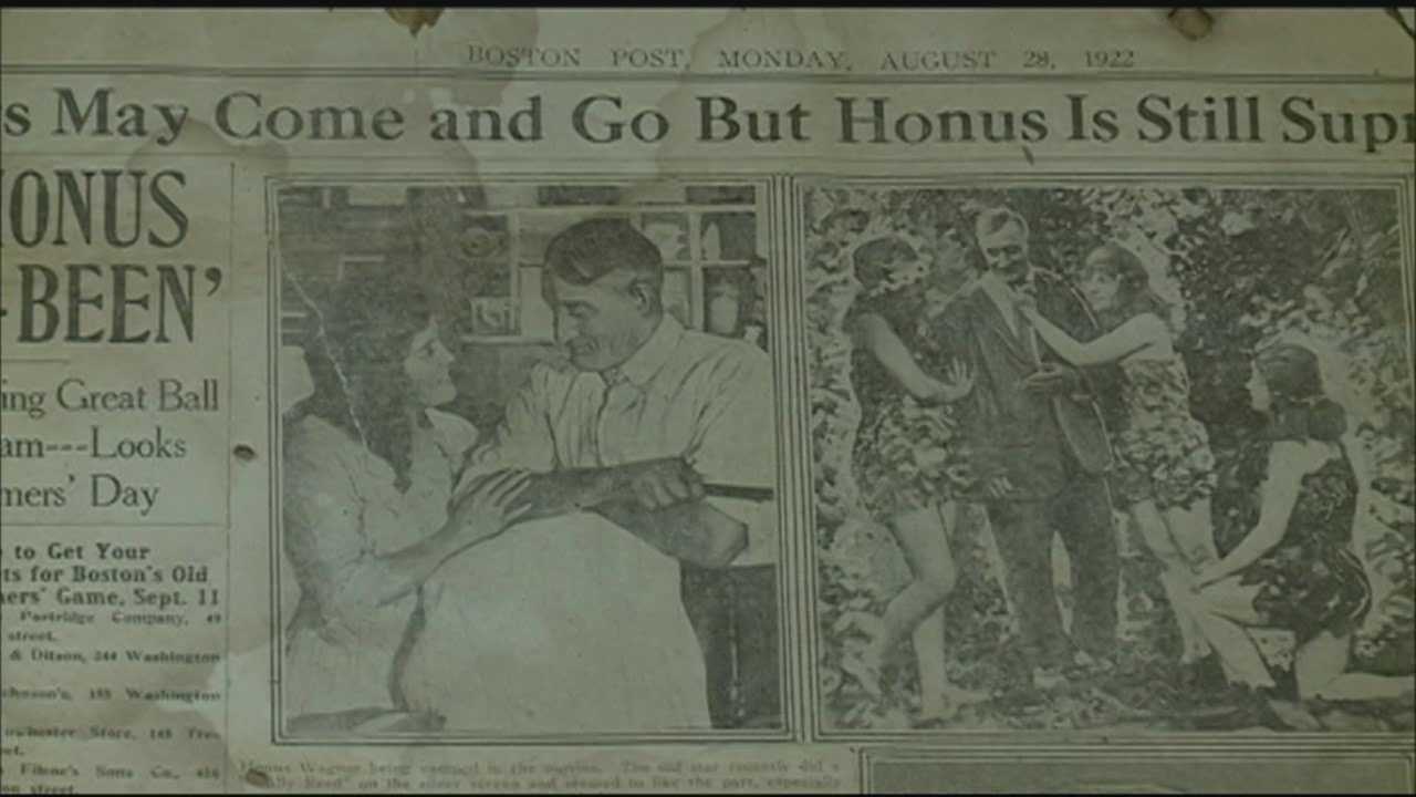 Man discovers old newspapers in walls