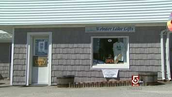 Carla Manzi owns Webster Lake Gifts