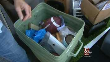 Mr. Devlin finds treasure in his Beverly, Mass. neighbors' trash.