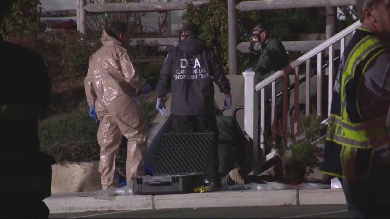 2 arrested in Hudson meth lab bust