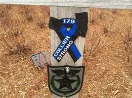 Sean Collier memorial on MIT campus