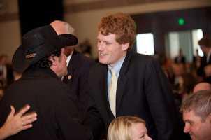 Joe Kennedy with Carlos Arrendondo.