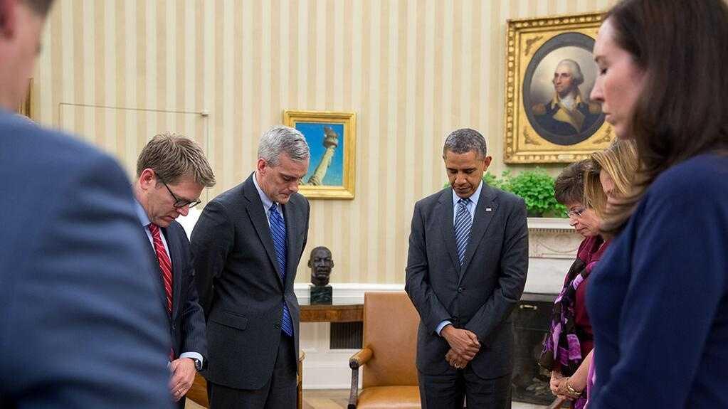 Obama Marathon Moment of Silence 4.15.14