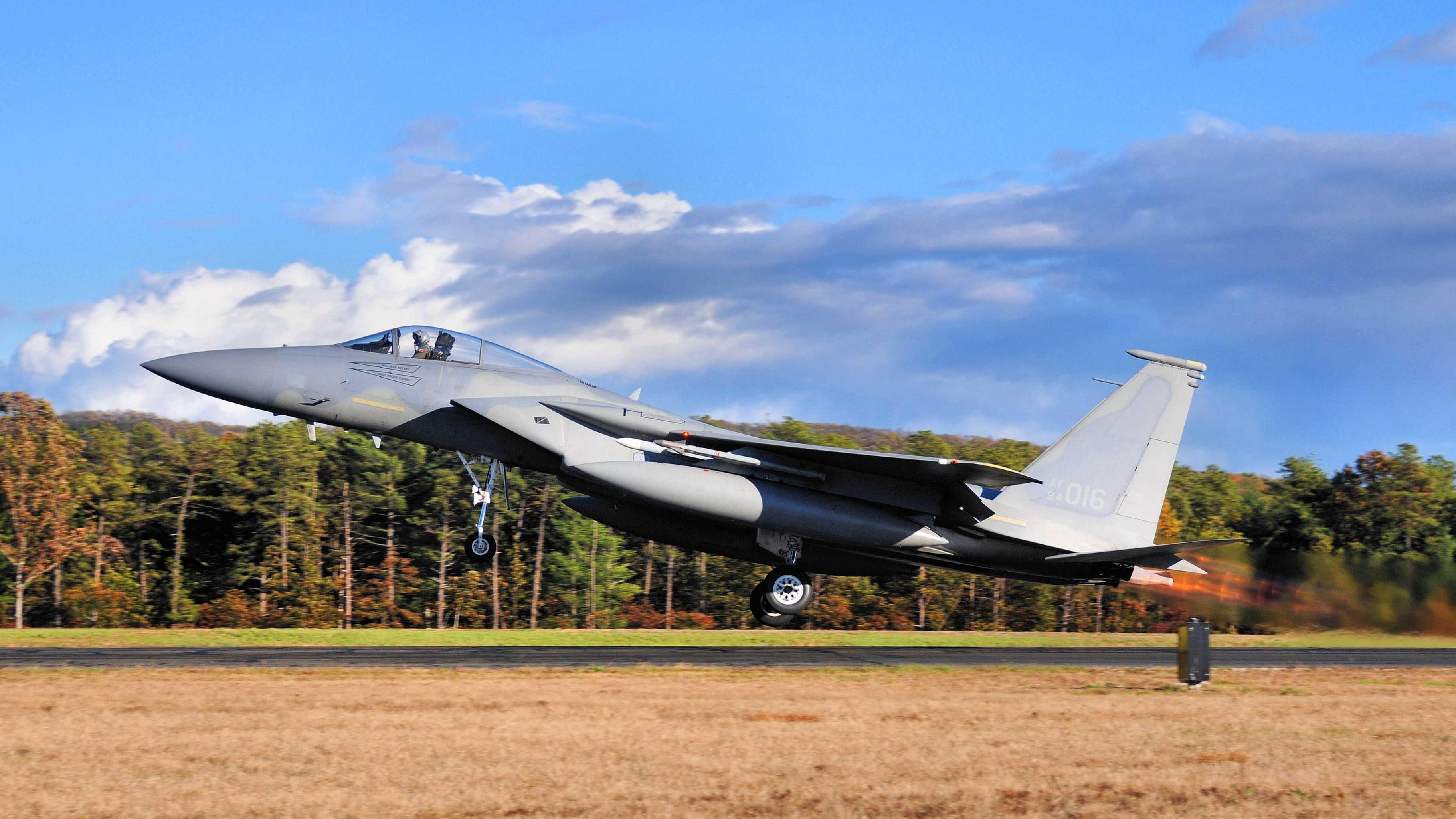 F-15 Massachusetts National Guard
