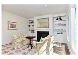 A formal living room.