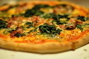We eat an average of 23 pounds of pizza each year, according to the U.S. Department of Agriculture.