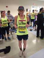 StormTeam 5 Meteorologist Danielle Vollmar is running in this year's marathon.