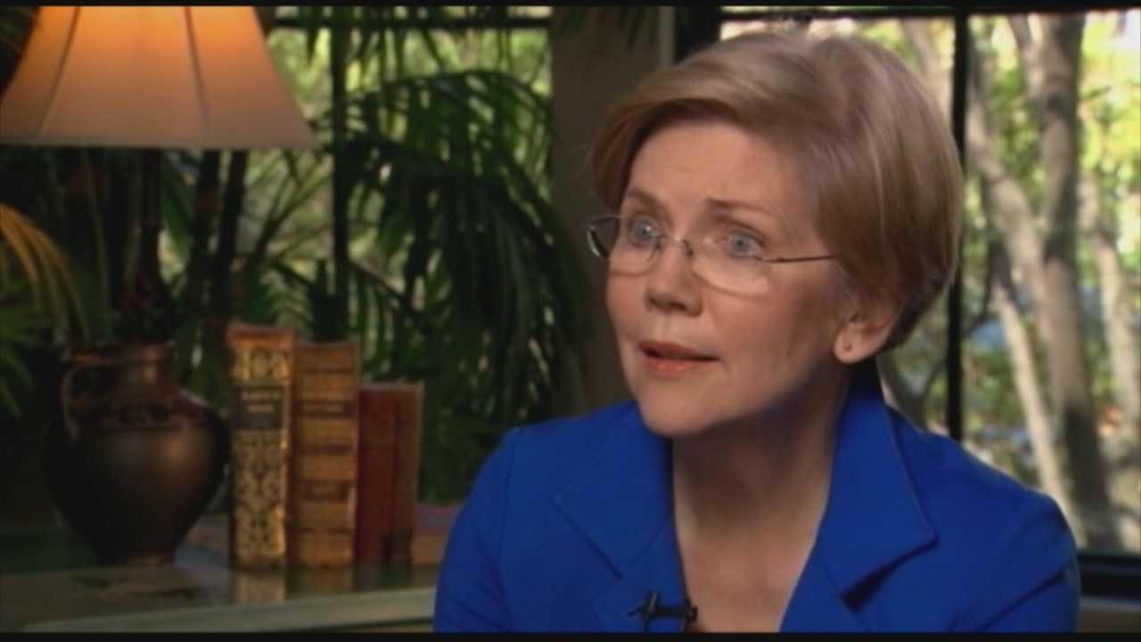 Sen. Warren&#x3B; I'm not running for president