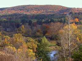 1763: End of Indian Wars allows expansion in Western Massachusetts to a total of 184 towns by 1763.