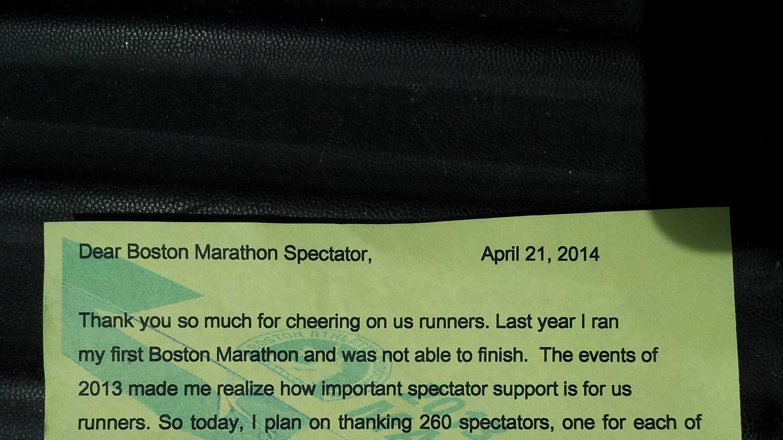 Runner's note 4.22