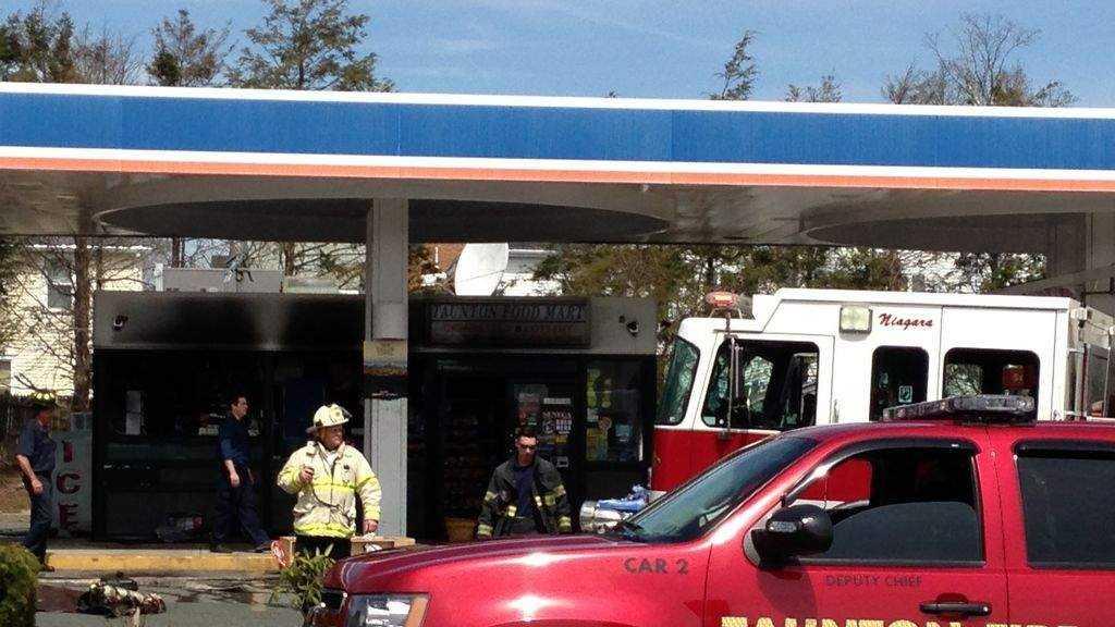 Taunton Gas Station Fire