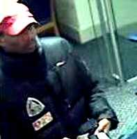 Theft - Case No. 140203December 05, 2013Cambridge : Financial InstitutionCase Details:Looking to identify the pictured male who negotiated counterfeit checks against a bank account.If you have any information about the identity of this person or where they are, please contact:Cambridge Police: (617) 349-9307Investigator: Det Brian OConnorCase Submission No.: 140203