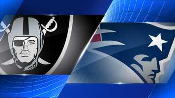 Week 3 - Oakland Raiders at New England Patriots - Sept. 21, 1 p.m. CBS