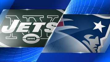 Week 7 - New York Jets at New England Patriots - 8:25 p.m. (Thurs.) CBS
