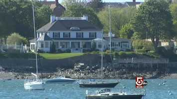 During the summer, 2,000 boats fill Marblehead harbor.