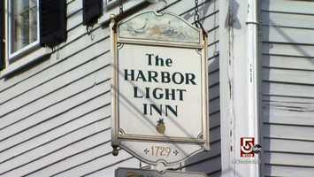 Check into the Harbor Light Inn.