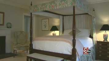 In the New York Times, it was listed as one of the country's top ten romantic inns.