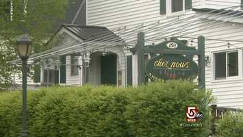 Chez Nous is a popular restaurant in Lee.
