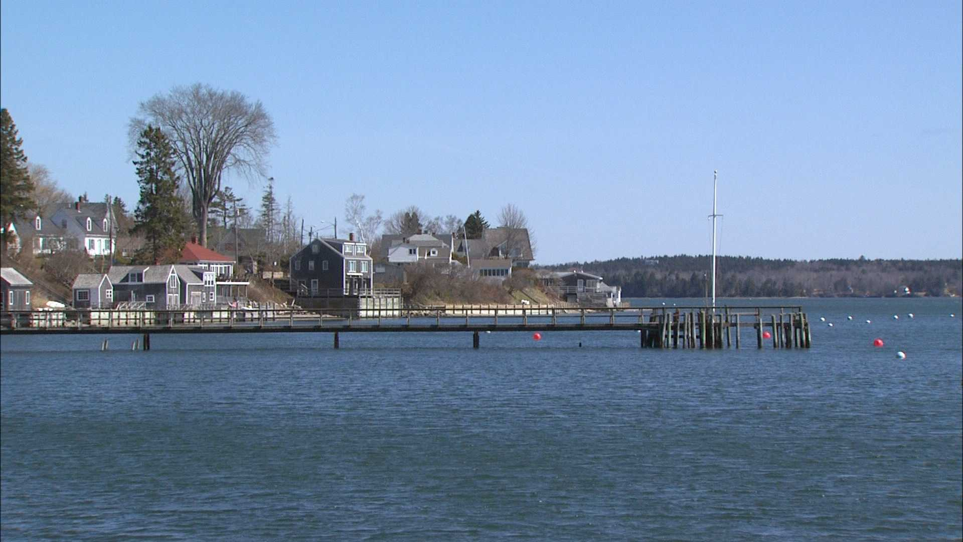 Friday, May 2: Main Streets and Back Roads: Castine, Maine