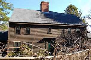 The Newman-Fiske-Dodge House was built around 1658 and is located at 162 Cherry Street in Wenham.