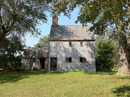 The Hoxie House, circa 1675, in Sandwich is one of the oldest houses on Cape Cod.