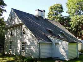 The Cooper-Frost-Austin House was built in Cambridge around 1681. It is the oldest home in Cambridge.