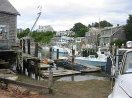 The fishing village of Menemsha, Martha's Vineyard, was the primary location.