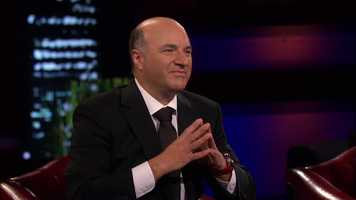 Boston-based shark Kevin O'Leary, who owns his own mutual fund company, showed an immediate interest in their business.