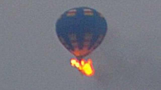 Balloon disaster