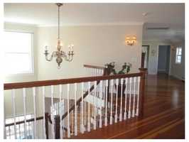 There are 4 large second floor bedrooms.