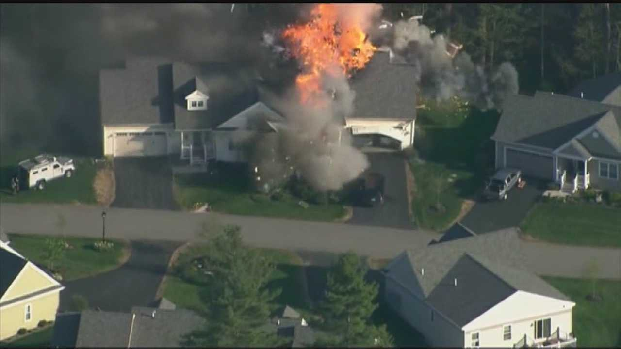 Few answers in Brentwood police shooting, house explosion
