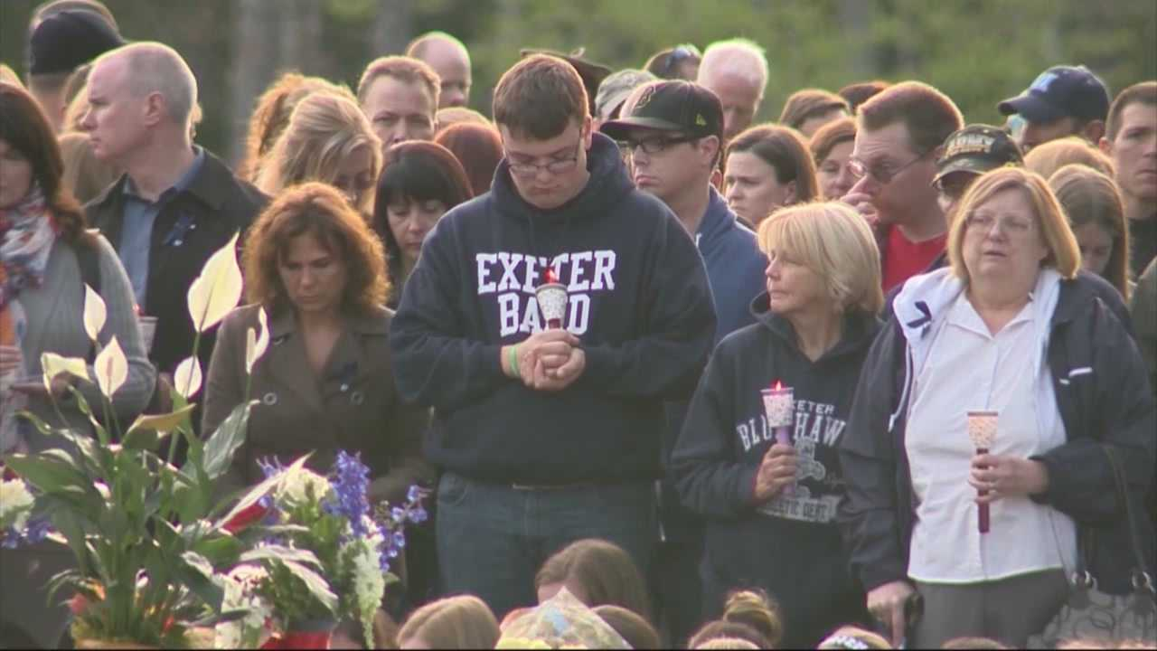 Community gathers to remember slain officer