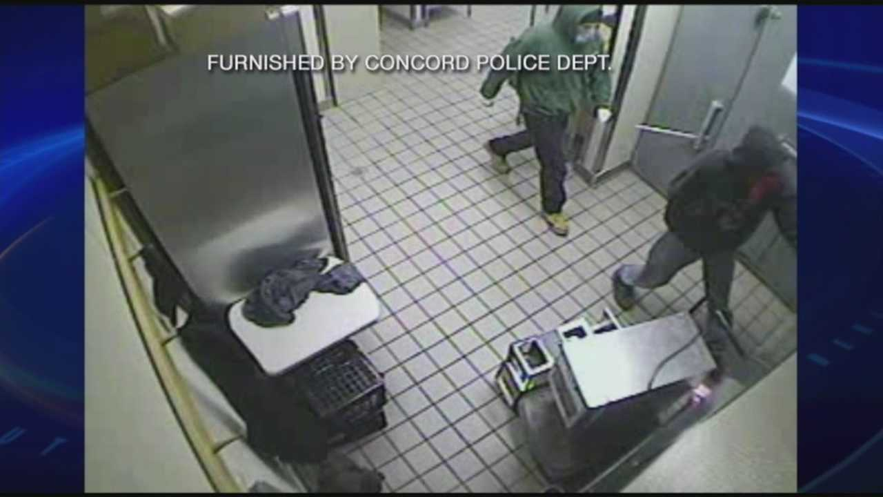 Surveillance video shows Dunkin' Donuts robbery