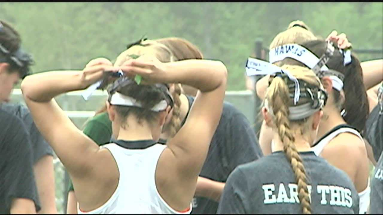 Girls Lacrosse Teams Honor Officer Arkell